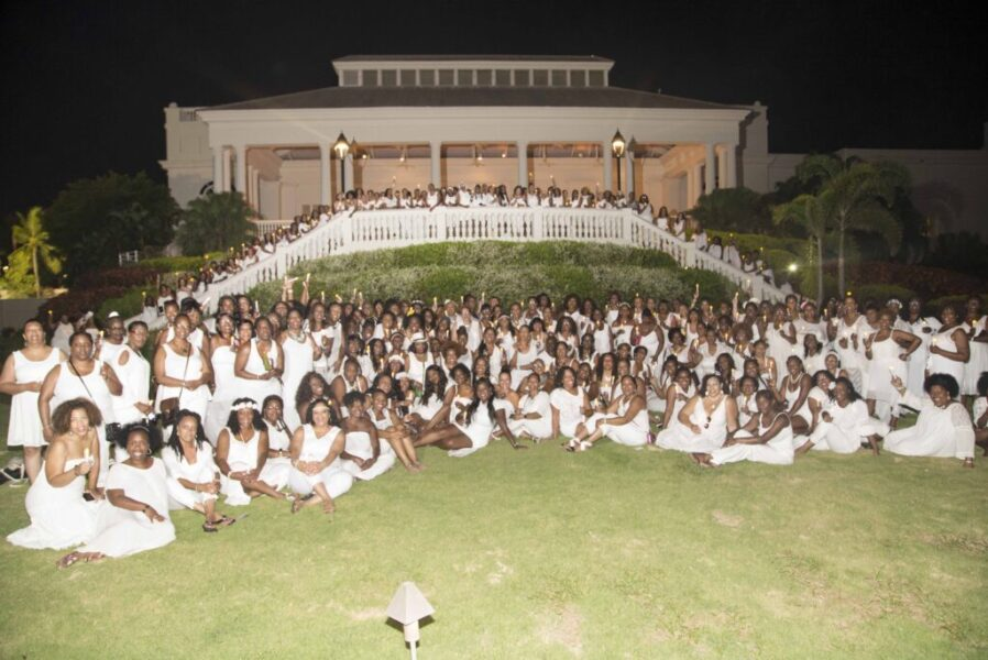 Women in All White